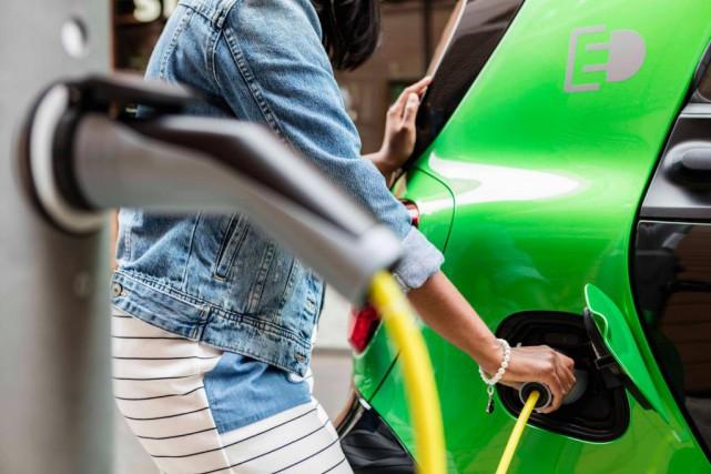 La Smart électrique pourra parcourir 160km.... (photo : Daimler)