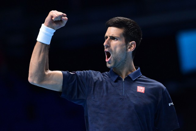 Novak Djokovic... (PHOTO AFP)