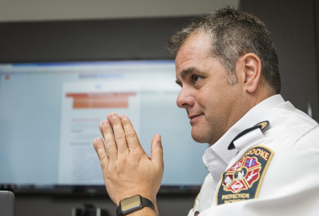 Le coordonnateur des mesures d'urgence à la Ville... (Spectre Média, Frédéric Côté)