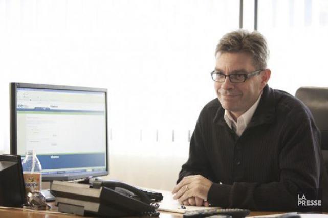 Le président d'Influence Communication, Jean-François Dumas, les francophones... (Archives, La Presse)