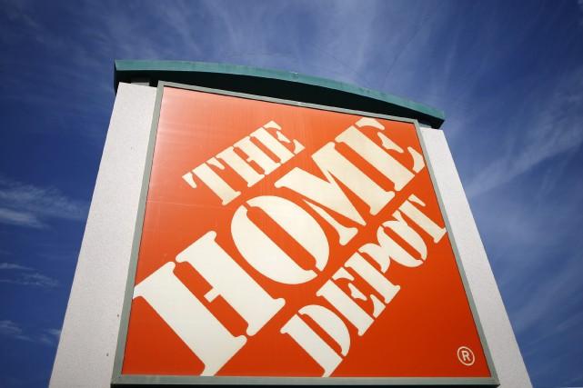 Home Depot... (REUTERS)