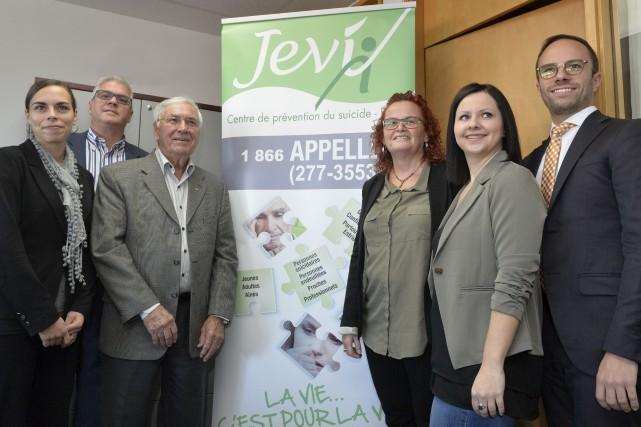 L'organisme JEVI, Centre de prévention du suicide, fête... (Spectre Média, Maxime Picard)