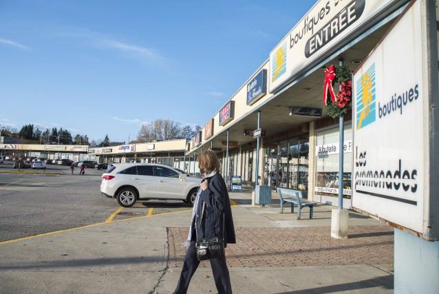 Le centre commercial Les Promenades King, qui appartient... (Spectre Média, Marie-Lou Béland)
