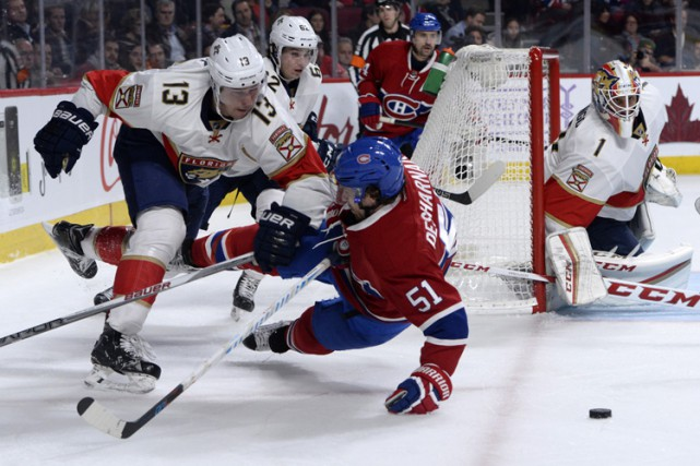 Relisez le clavardage du match entre les Panthers et le Canadien avec nos... (PHOTO REUTERS)