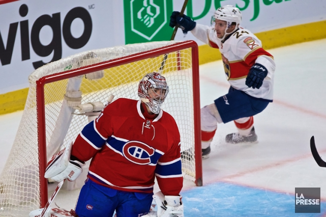 Carey Price a subi son premier revers de... (PHOTO ANDRÉ PICHETTE, LA PRESSE)