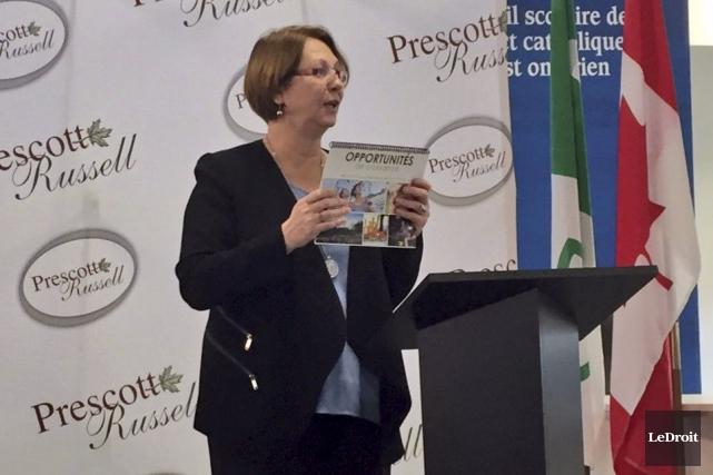 Carole Lavigne, directrice du service de développement économique... (Martin Brunette, Le Droit)