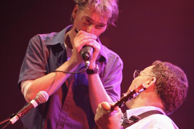 Guy Bélanger et Bob Walsh en 2004...