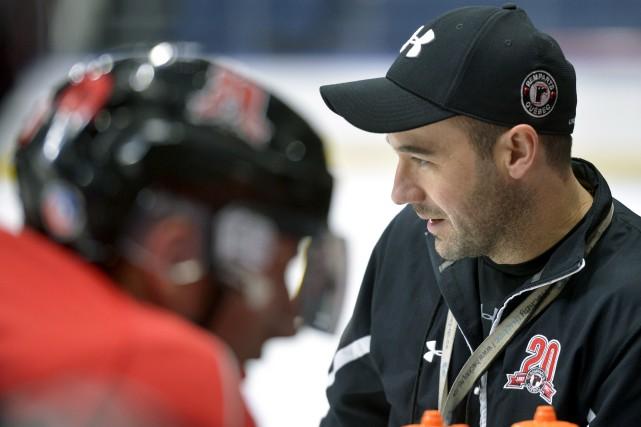 L'entraîneur adjoint Daniel Renaud est dépeint comme un... (Le Soleil, Jean-Marie Villeneuve)