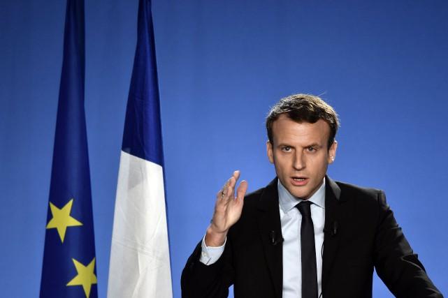 Emmanuel Macron... (PHOTO PHILIPPE LOPEZ, AGENCE FRANCE-PRESSE)