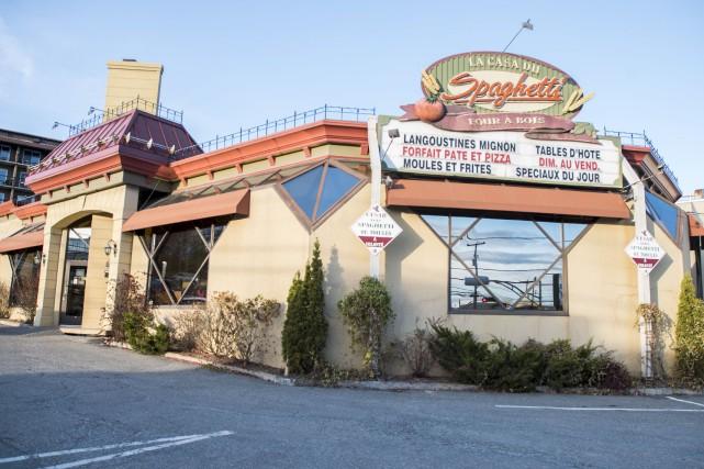 Le restaurant La Casa du Spaghetti, situé au... (Spectre Média)
