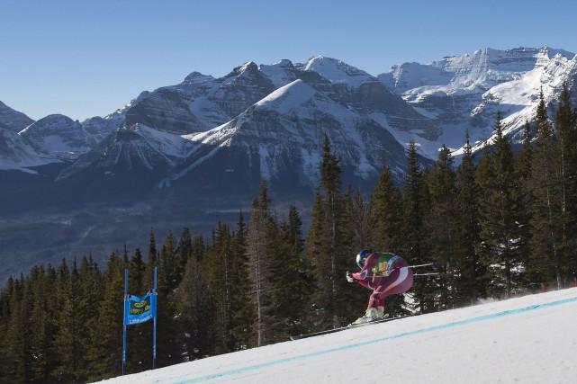 Le manque de neige dans l'Ouest canadien a forcé l'annulation des premières... (Photo Frank Gunn, archives PC)