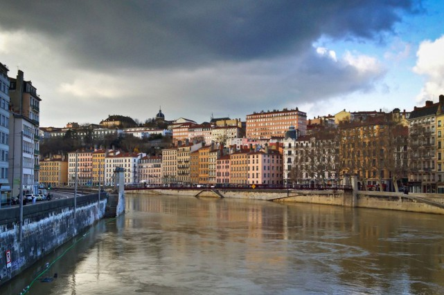 Lyon, dans le sud-est de la France.... (photo www.adventurouskate.com)