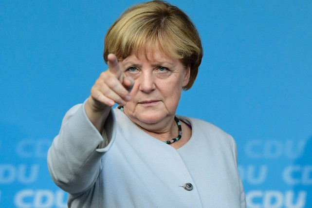 Angela Merkel... (Photo Tobias Schwarz, archives Reuters)