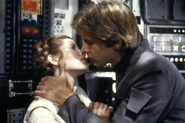 Quarante ans après les faits, Carrie Fisher, aujourd'hui... (photo allstar Picture Library/the Guardian)