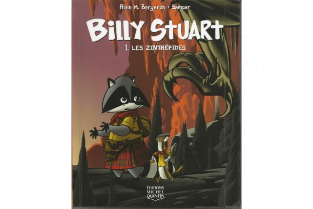 La sérieBilly Stuart, d'Alain M. Bergeron...