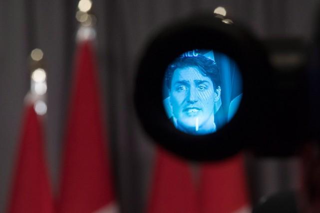Des journalistes ont exhorté le gouvernement de Justin... (Chris Young, archives PC)