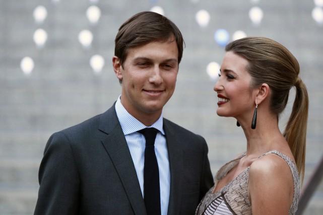 Jared Kushner et sa femme,Ivanka Trump.... (Photo Lucas Jackson, Archives REUTERS)
