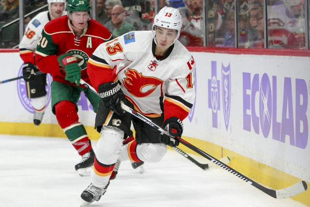 Johnny Gaudreau a récolté 11 points en 17 matchs... (Photo Paul Battaglia, AP)