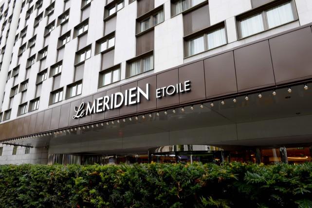 Le célèbre Méridien Étoile, plus grand hôtel de Paris avec 1025 chambres, vient... (PHOTO AFP)