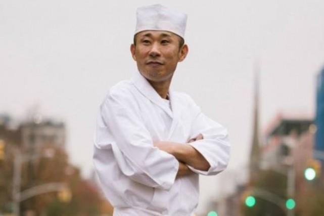 Le chef du restaurant Sushi Inoue... (PHOTO TIRÉE DE FACEBOOK)