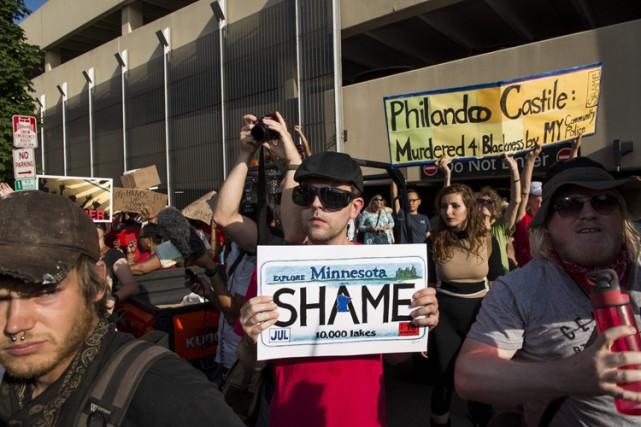 Une manifestation en honneur de Philando Castile a... (ARCHIVES AFP)