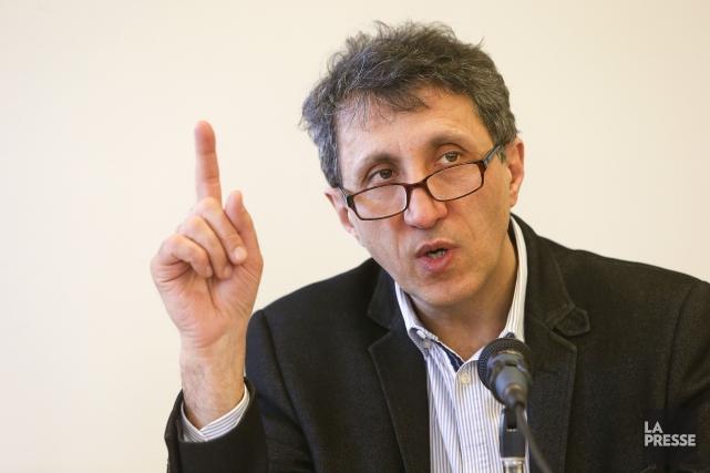 Le député de Québec solidaire Amir Khadir a... (Archives La Presse)