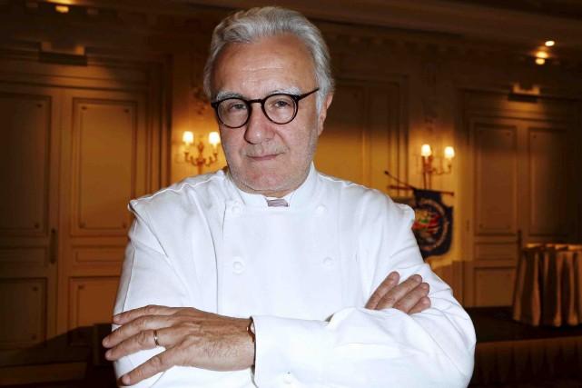 Le réputé chef français Alain Ducassea développé depuis... (Archives AFP, Thomas Samson)