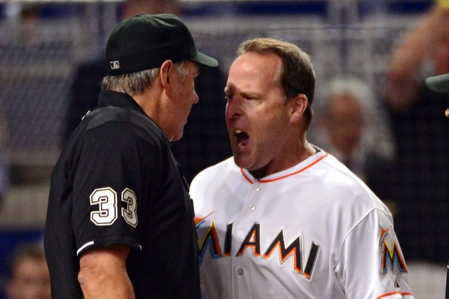 Mike Redmond a été le gérant des Marlins de... (PHOTO Steve Mitchell, archives USA TODAY Sports)