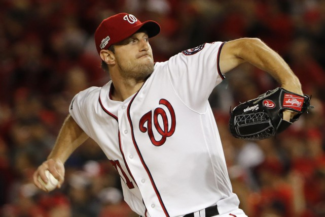 Max Scherzer... (PHOTO Pablo Martinez Monsivais, archives AP)