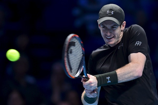 Andy Murray a remporté le plus long match... (Agence France-Presse)