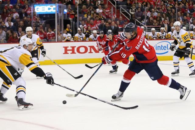 Nicklas Backstrom... (PHOTO Geoff Burke, USA Today Sports)