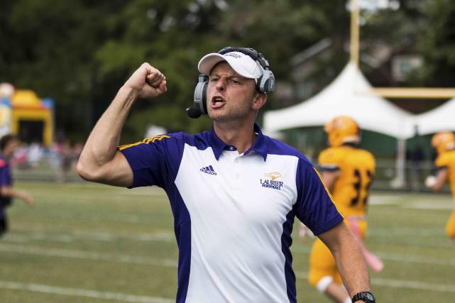 Michael Faulds, l'entraîneur-chef des Golden Hawks de Wilfrid-Laurier,... (fournie par l'Université Wilfrid-Laurier, Christian Bender)