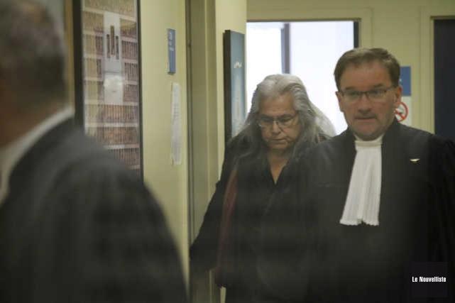 Marcel Boivin est accusé d'agression sexuelle. Il est... (Audrey Tremblay, Le Nouvelliste)
