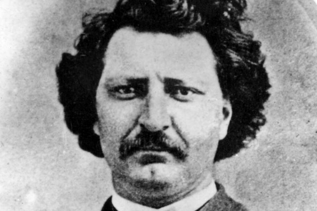 Louis Riel avait pu se réfugier à Gatineau... (Archives, La Presse canadienne)