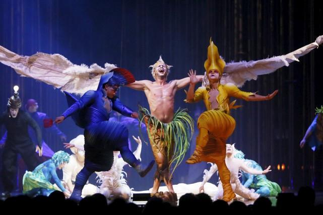 Des spectacles du Cirque du Soleil ont été... (Archives, LeDroit)