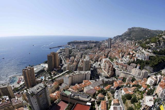 Vue aérienne de la principauté de Monaco... (AFP, Valery Hache)
