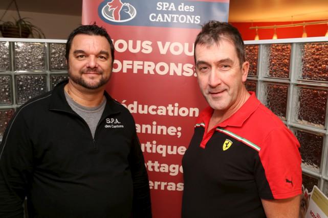 Carl Girard, directeur de la SPA des Cantons,... (Janick Marois)