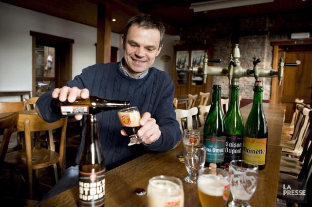 Quelques-unes des bières de la Brasserie Dupont.... (PHOTO ALAIN ROBERGE, ARCHIVES LA PRESSE)