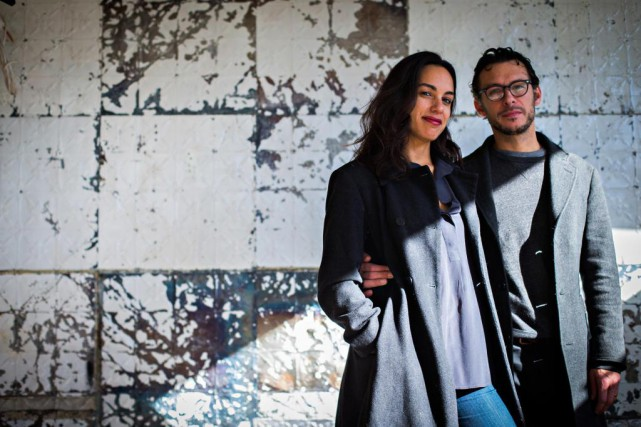 Molly Superfine-Rivera et Mehdi Brunet-Benkritly ouvriront le restaurant... (Photo Olivier Jean, La Presse)