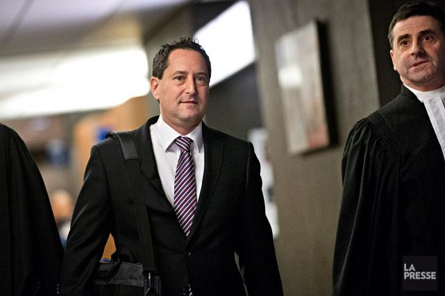 Michael Applebaum (à gauche) est jugé sous 14accusations... (Patrick Sanfaçon, archives La Presse)