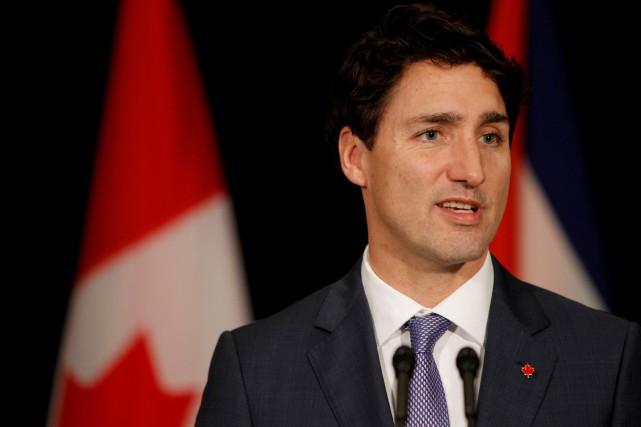 Le premier ministre canadien Justin Trudeau.... (Photo AFP)