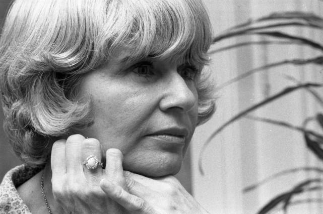Anne Hébert en 1975... (PHOTO Archives LA PRESSE)