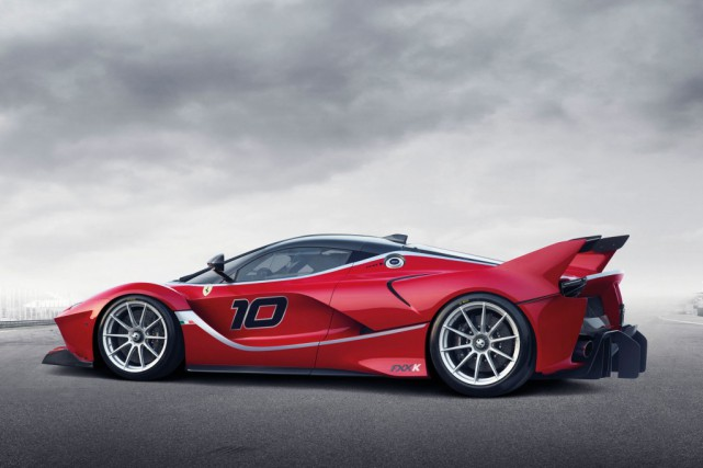 La Ferrari FXX K est déjà hybride.... (Photo : Ferrari)