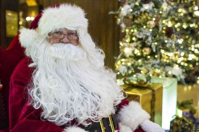 Le père Noël sera au Fairmont Le Château... (Fournie par Fairmont Le Château)