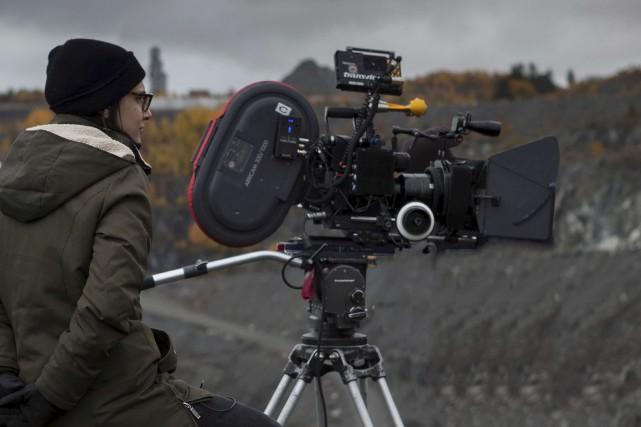 Chloé Robichaud en tournage. De toute évidence, la... (Fournie par les Films Séville)