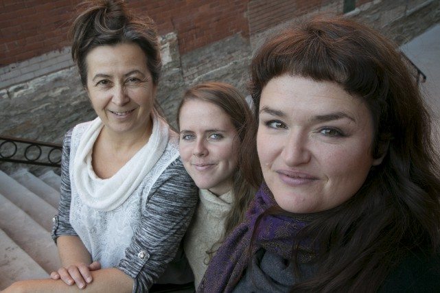 Claire Jean, Jessica Paradis et Christine Bolduc invitent... (Spectre Média, René Marquis)