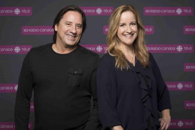 DanielVézina et Élyse Marquis sont de retour à... (Fournie par ICI Radio-Canada télé)