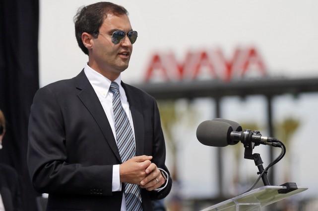Dave Kaval,nouveau président desA's d'Oakland... (PHOTO Patrick Tehan, archives AP)