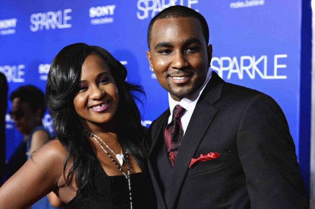 Bobbi Kristina Brown et Nick Gordon en 2012.... (Archives AFP)