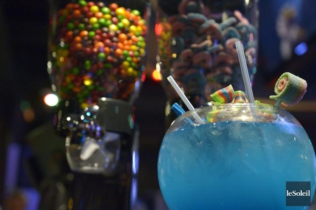 Un des cocktails bonbons et alcool qui seront... (Le Soleil, Yan Doublet)